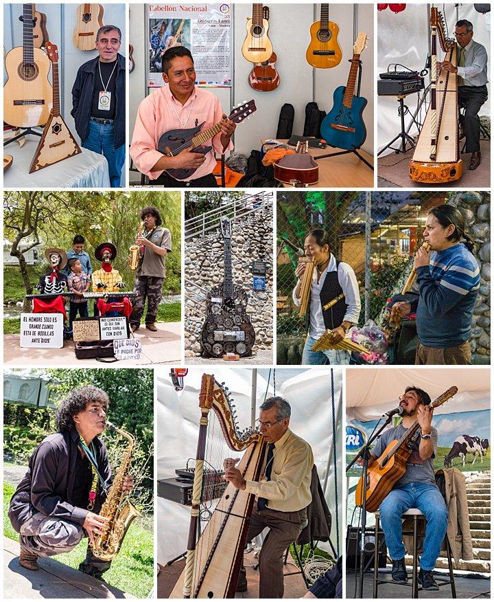 Festival de artesanias de America 2017, Cuenca, Ecuador - music