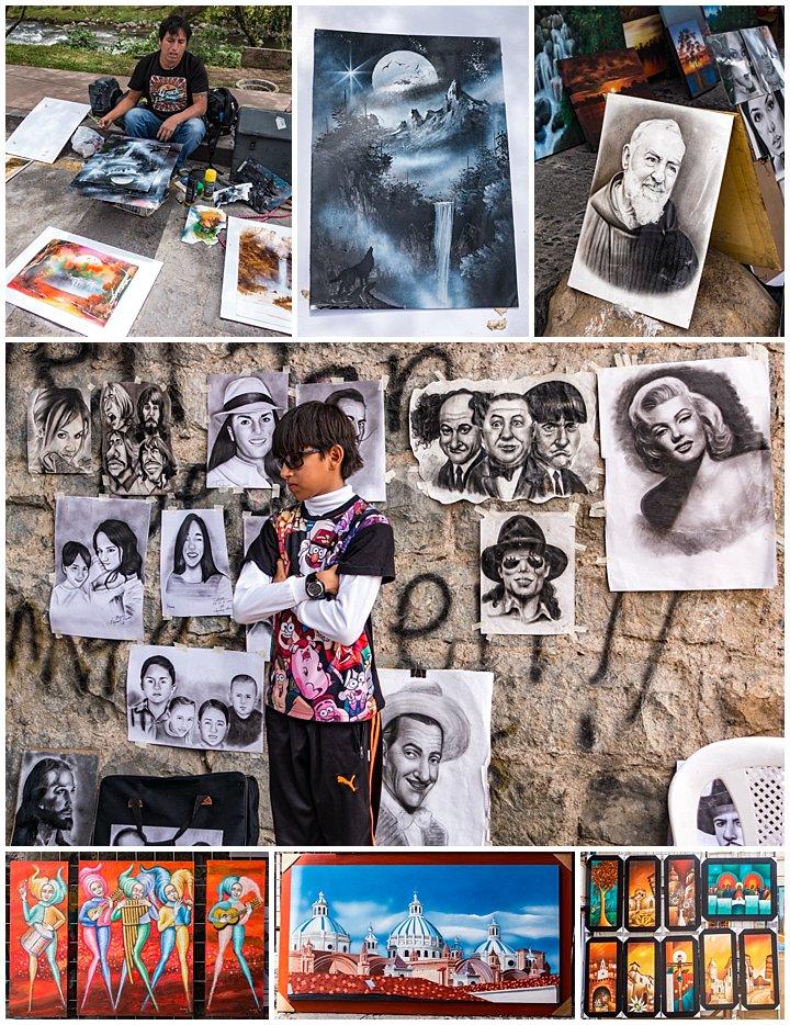 Festival de artesanias de America 2017, Cuenca, Ecuador - art