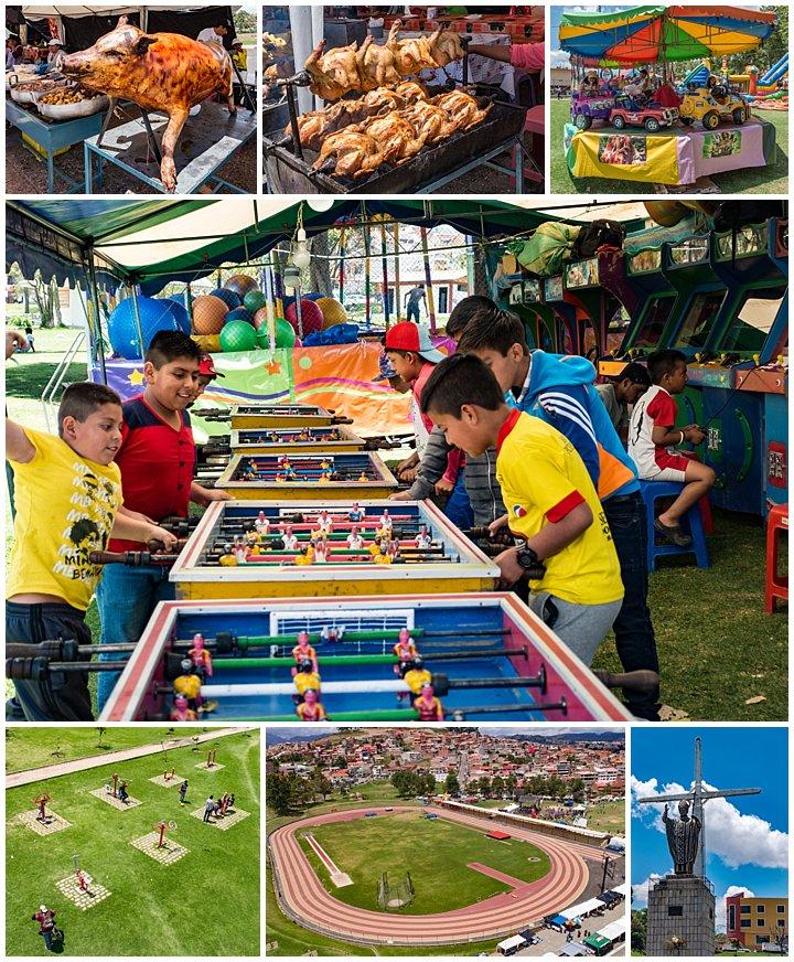 Symphony in Miraflores Park, Cuenca, Ecuador - games