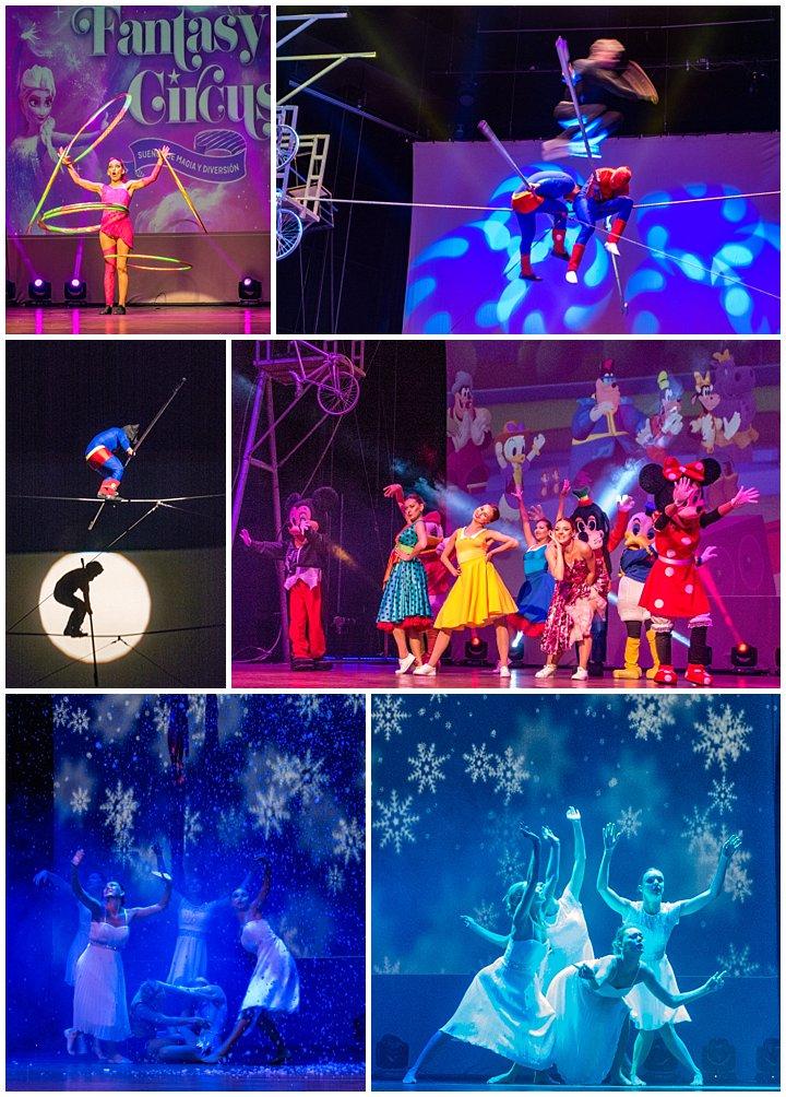 Moscow Circus in Ecuador - dancers