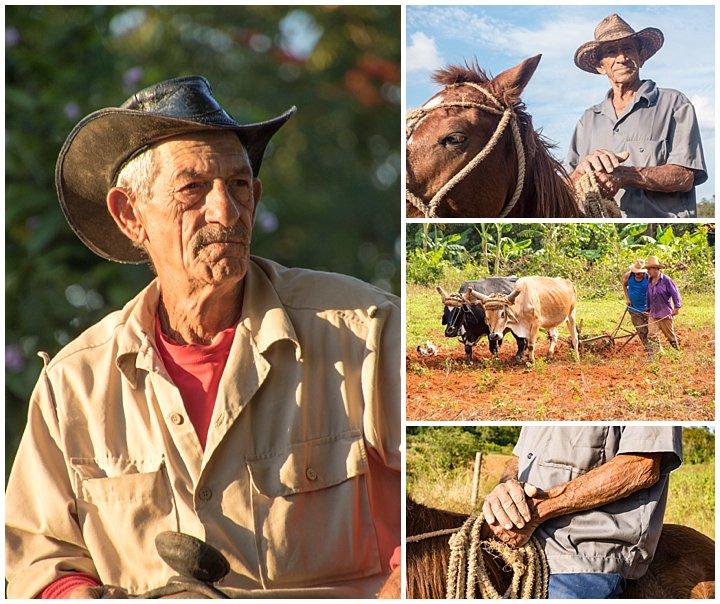 Vinales, Cuba - cowboys