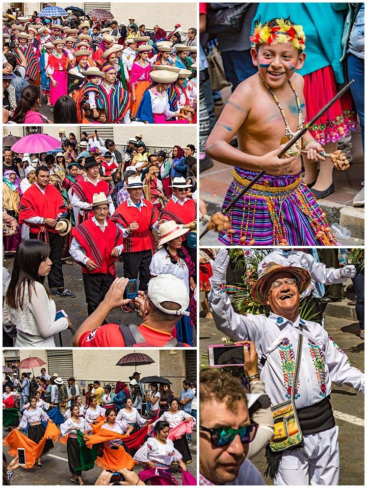 2017 Paseo del Nino in Cuenca, Ecuador - dancers