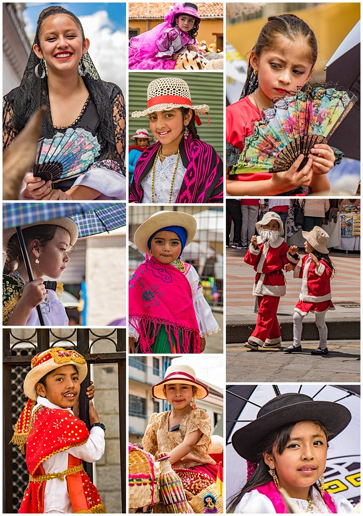 2017 Paseo del Nino in Cuenca, Ecuador - kids
