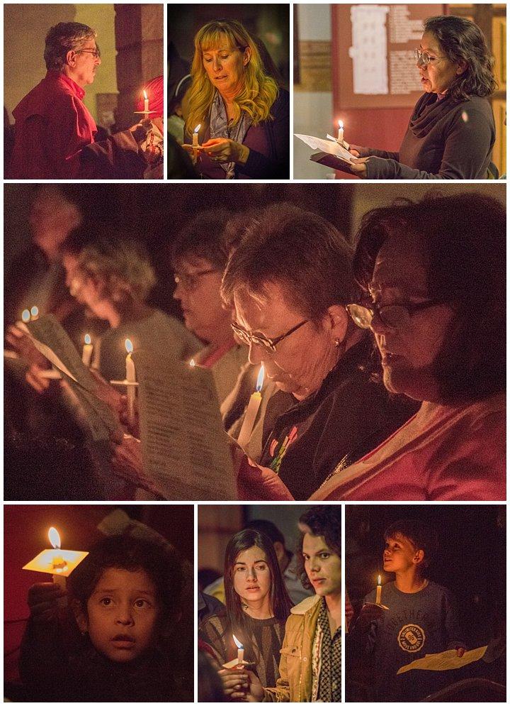 Cuenca, Ecuador Christmas Chorale 2017 - candlelight procession