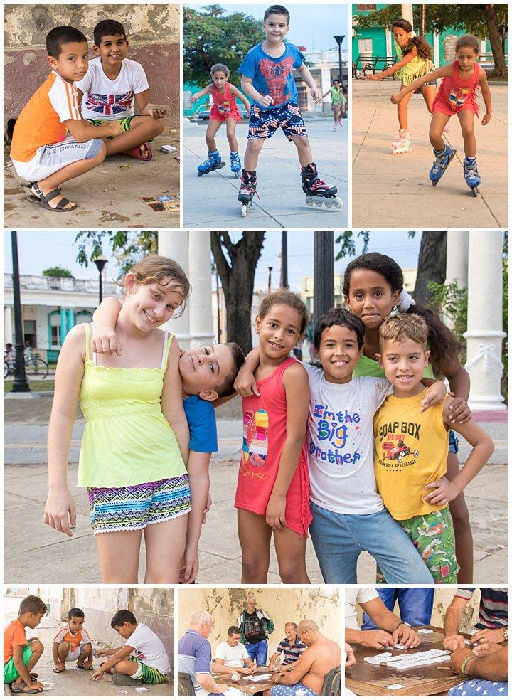 CienFuego, Cuba - playing