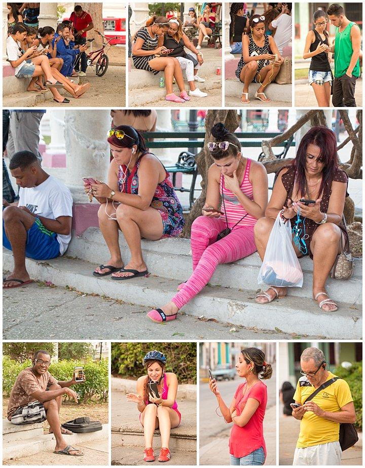 CienFuego, Cuba - internet access