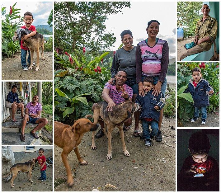 Cuba Hanabanilla family