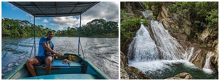Cuba Hanabanilla waterfall