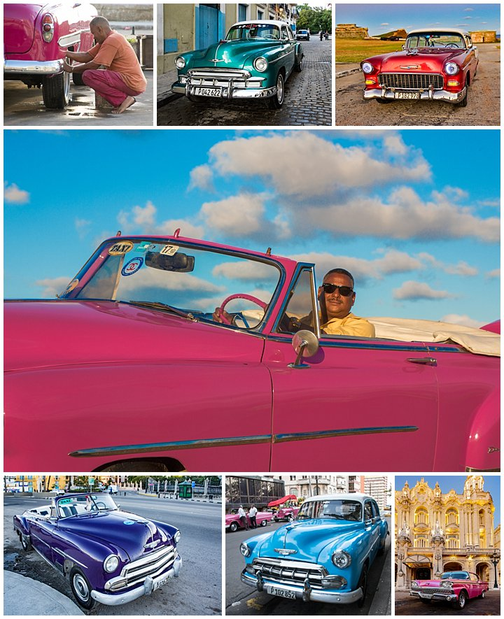 Havana, Cuba - classic cars