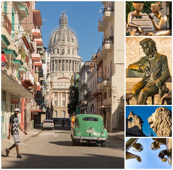 Havana, Cuba - statues