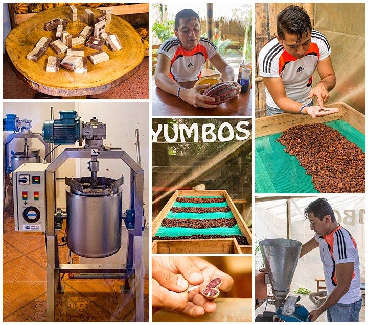 Mindo, Ecuador - chocolate factory
