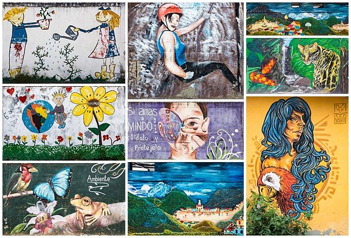 Mindo, Ecuador - murals