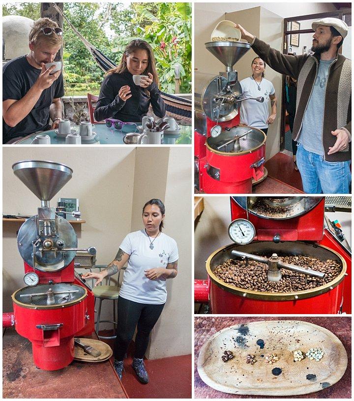 Panama City - coffee roasting
