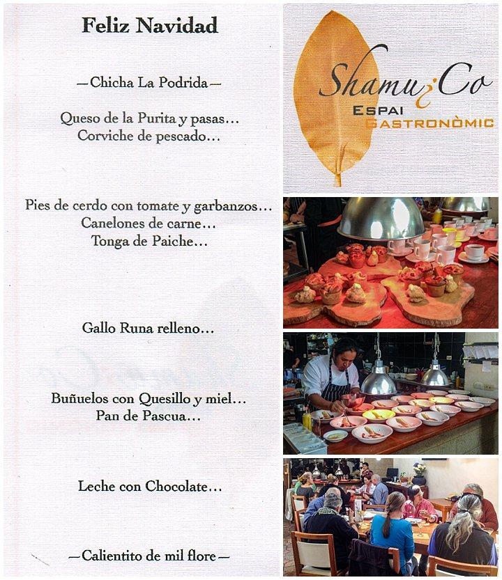 Saraguro, Ecuador Celebration - lunch