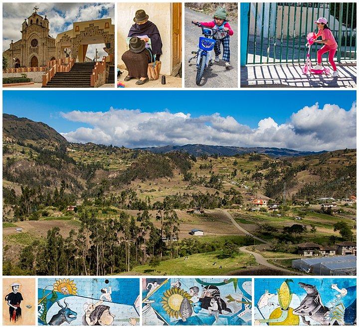 Saraguro, Ecuador Celebration - town