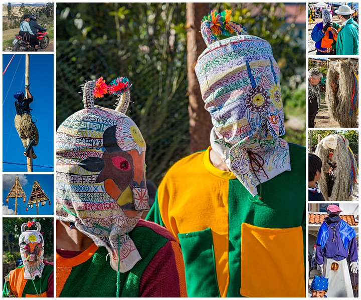 Saraguro, Ecuador Celebration - devils