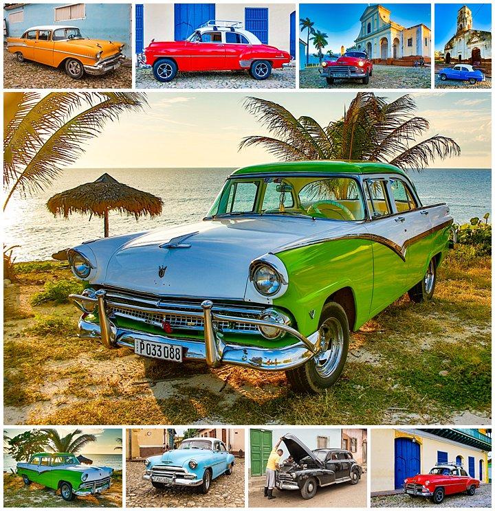 Trinidad, Cuba - American Classic Cars