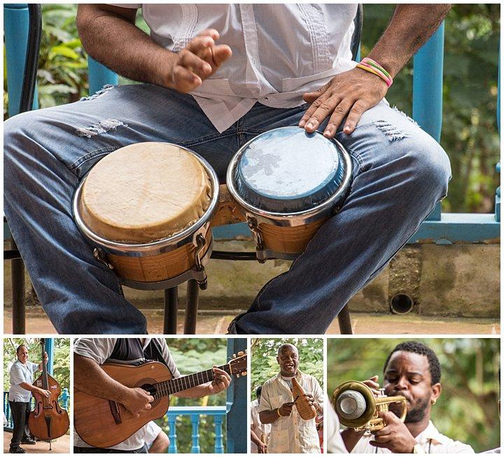 Trinidad, Cuba - band music