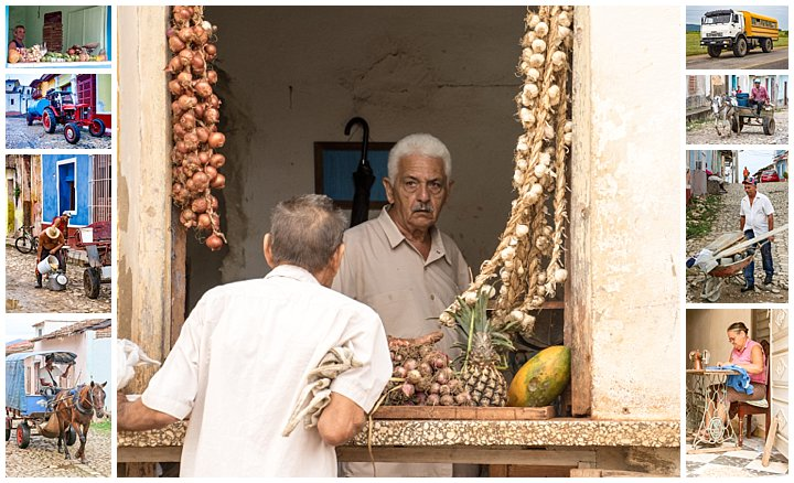 Trinidad, Cuba - people at work