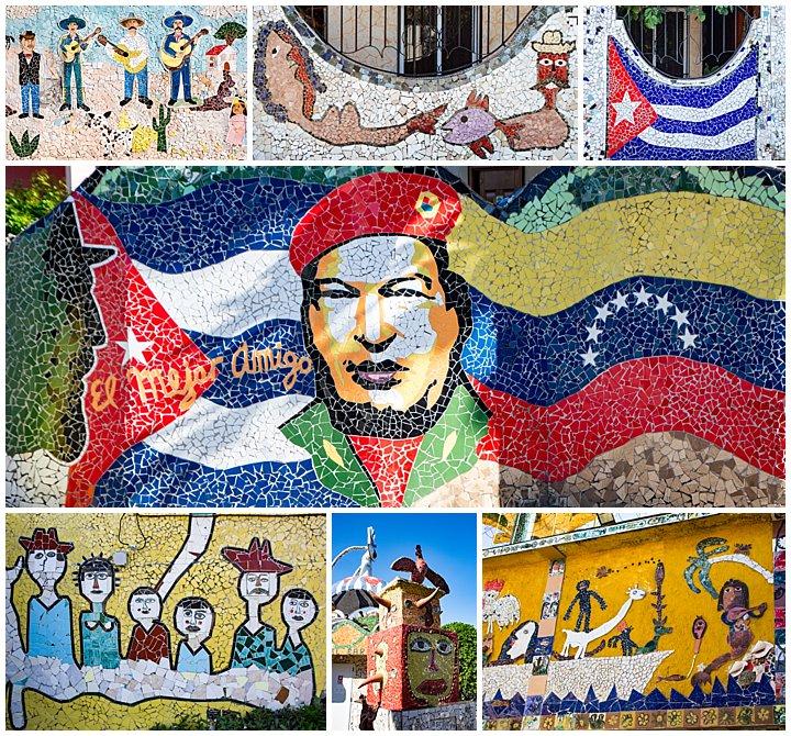 Vinales, Cuba - tiles