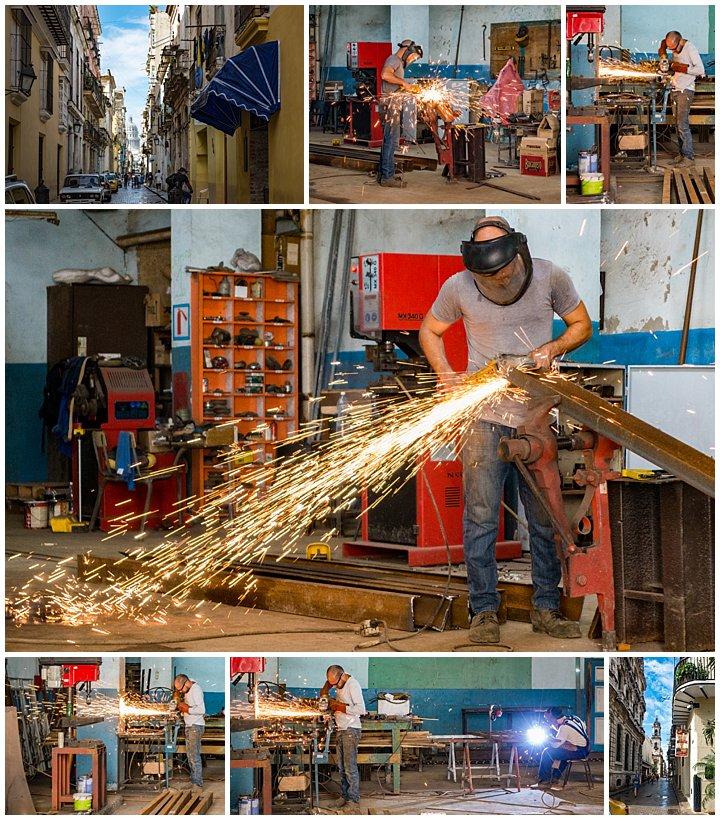 Havana, Cuba - welding