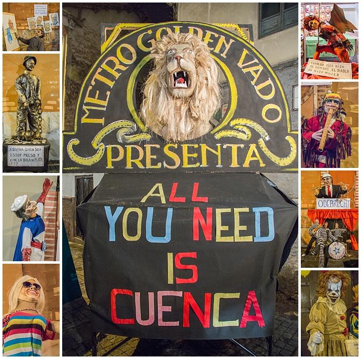New Years Eve 2017 Cuenca, Ecuador - Centro display