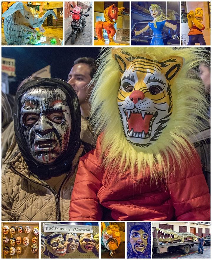 New Years Eve 2017 Cuenca, Ecuador - maaks