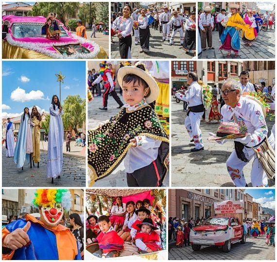 migrante parade, Cuenca, Ecuador 2018 - parade