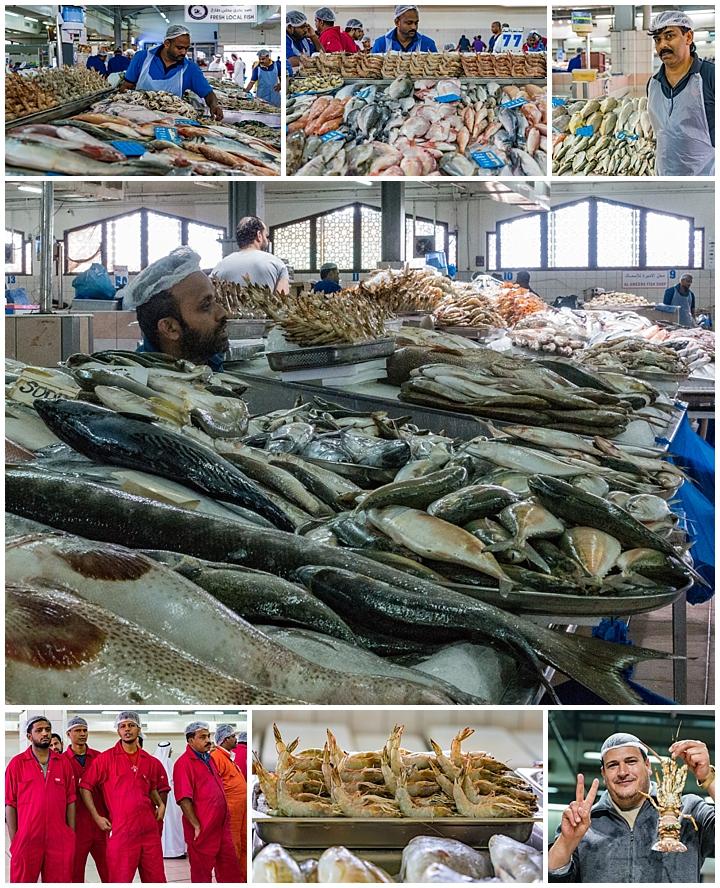 Abu Dhabi, UAE - fish market