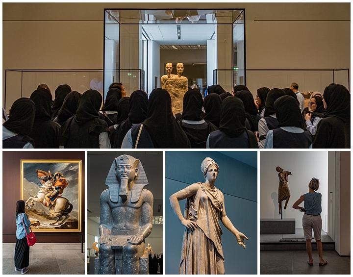 Abu Dhabi, UAE - museum