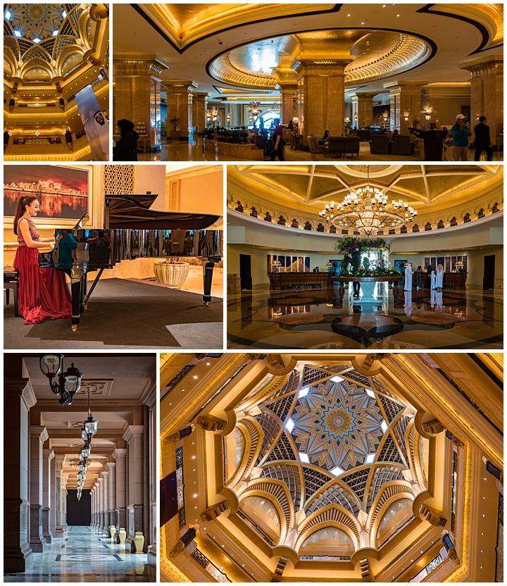 Abu Dhabi, UAE - palace