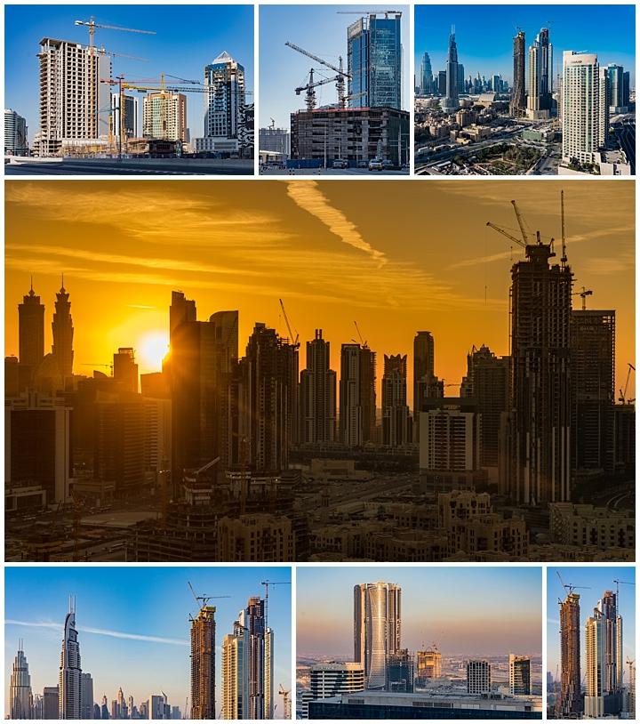 Abu Dhabi, UAE - construction