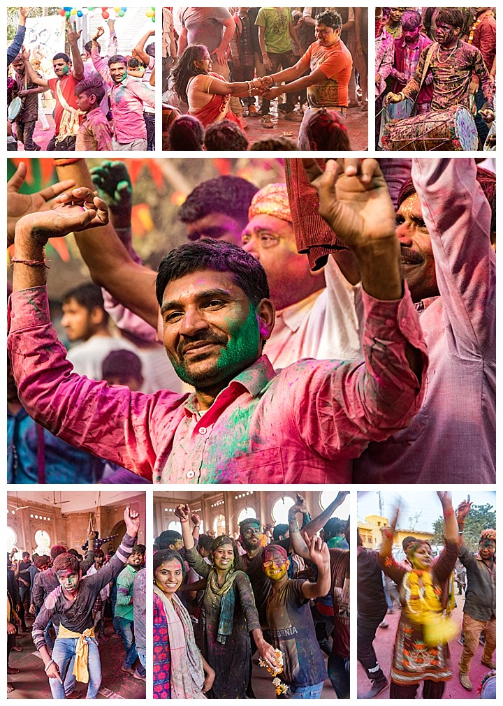 Barsana, India, Holi Festival 2018 -dance