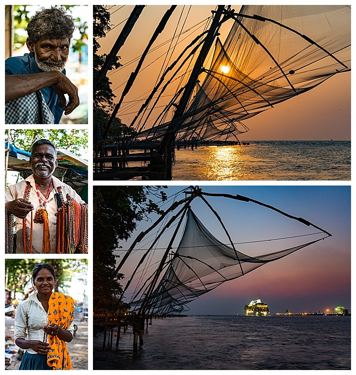 Cochin / Kochi, India - nets