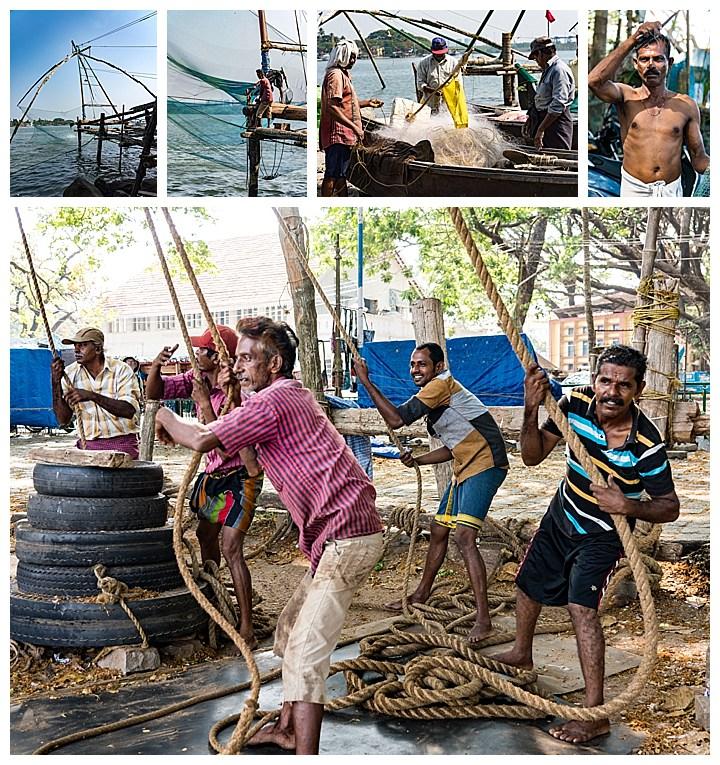Cochin / Kochi, India - fishing
