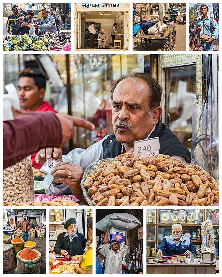 Delhi, India - vendors