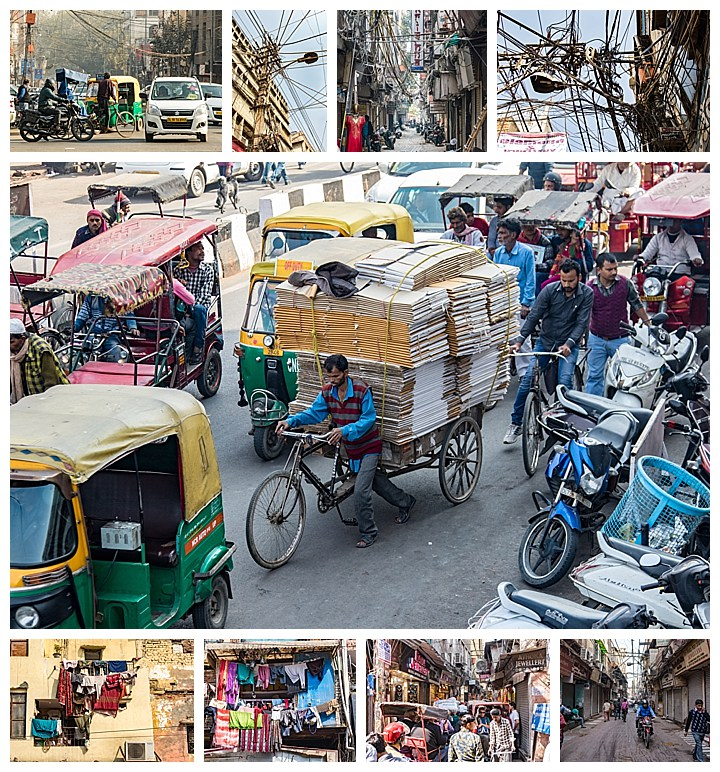 Delhi, India - street scenes