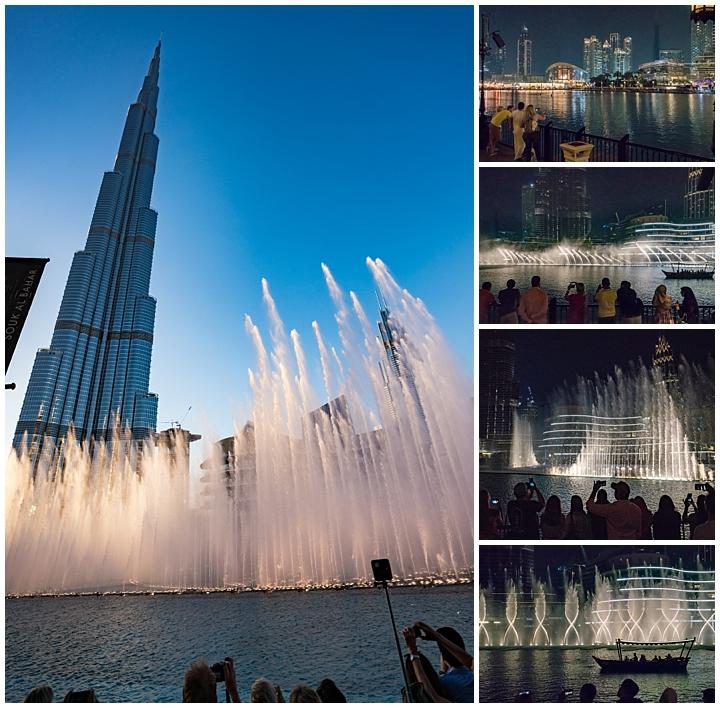 Dubai, UAE - fountain
