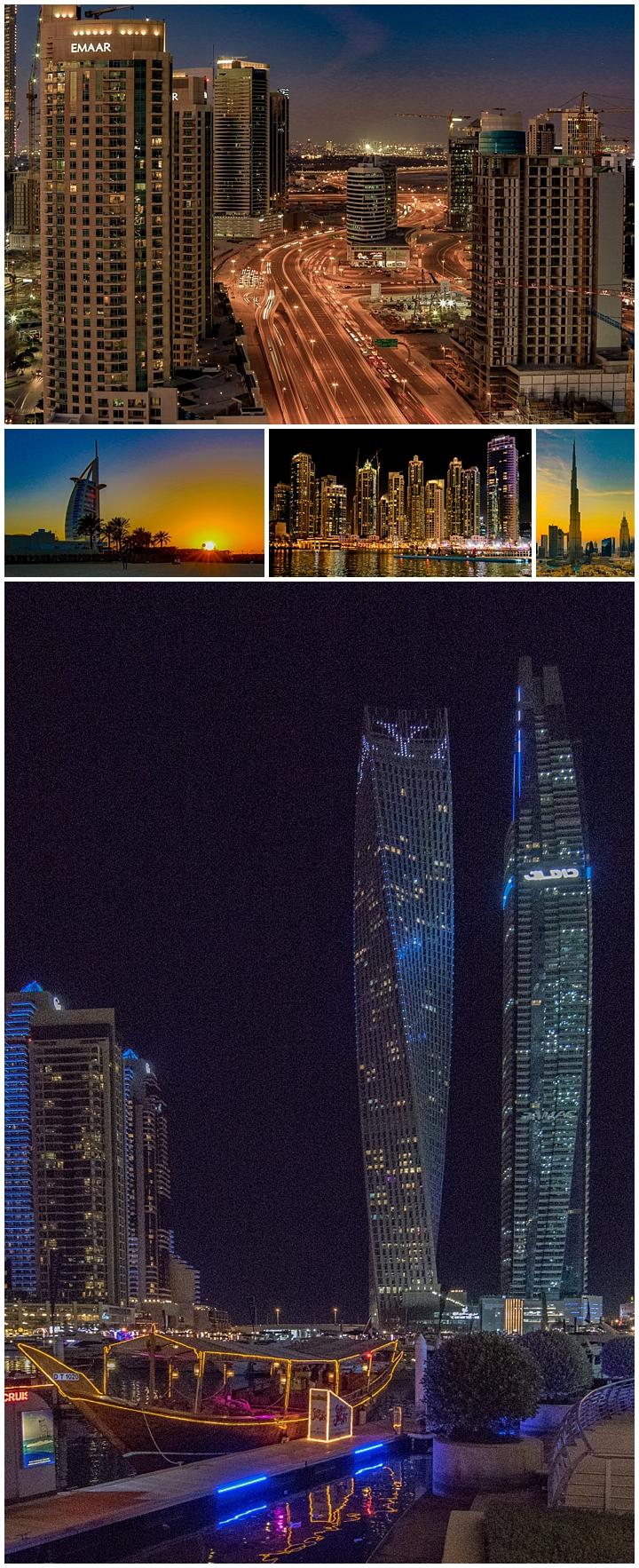 Dubai, UAE - night