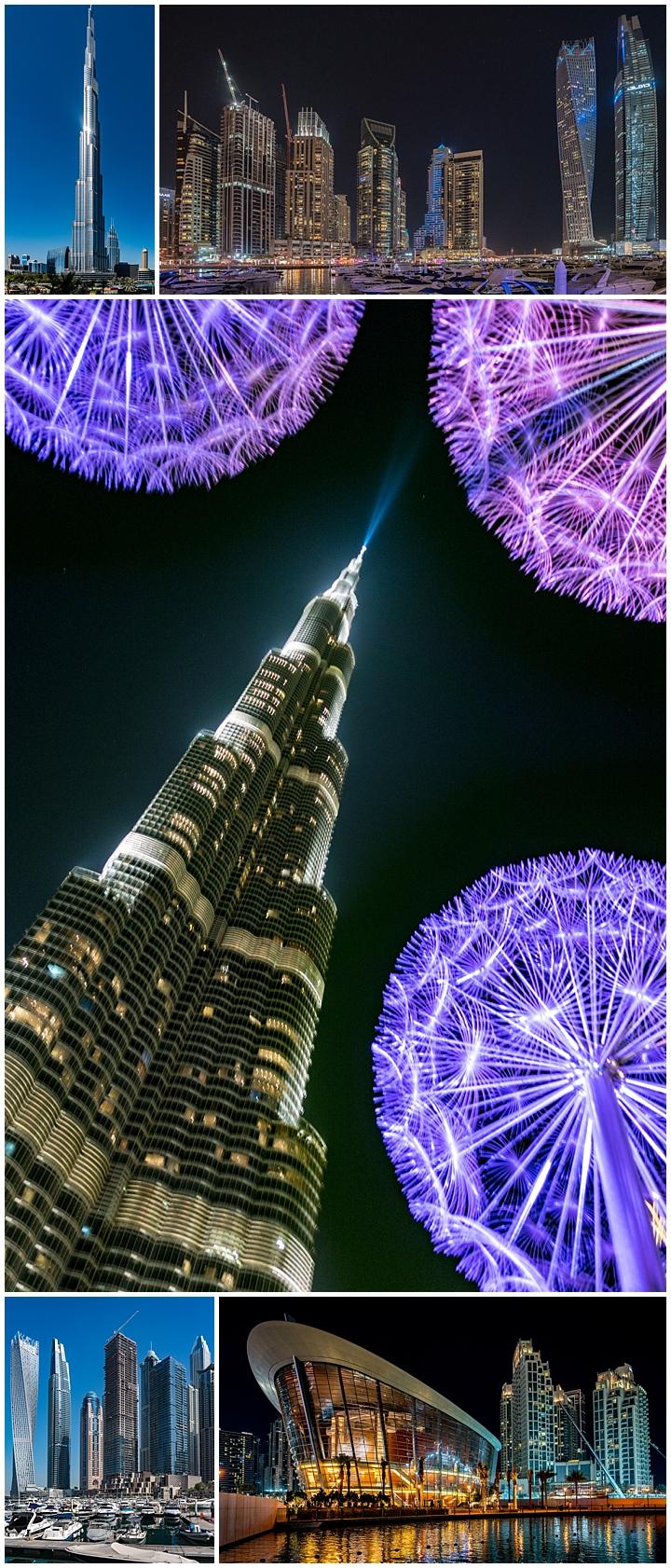 Dubai, UAE - Dubai Skyline