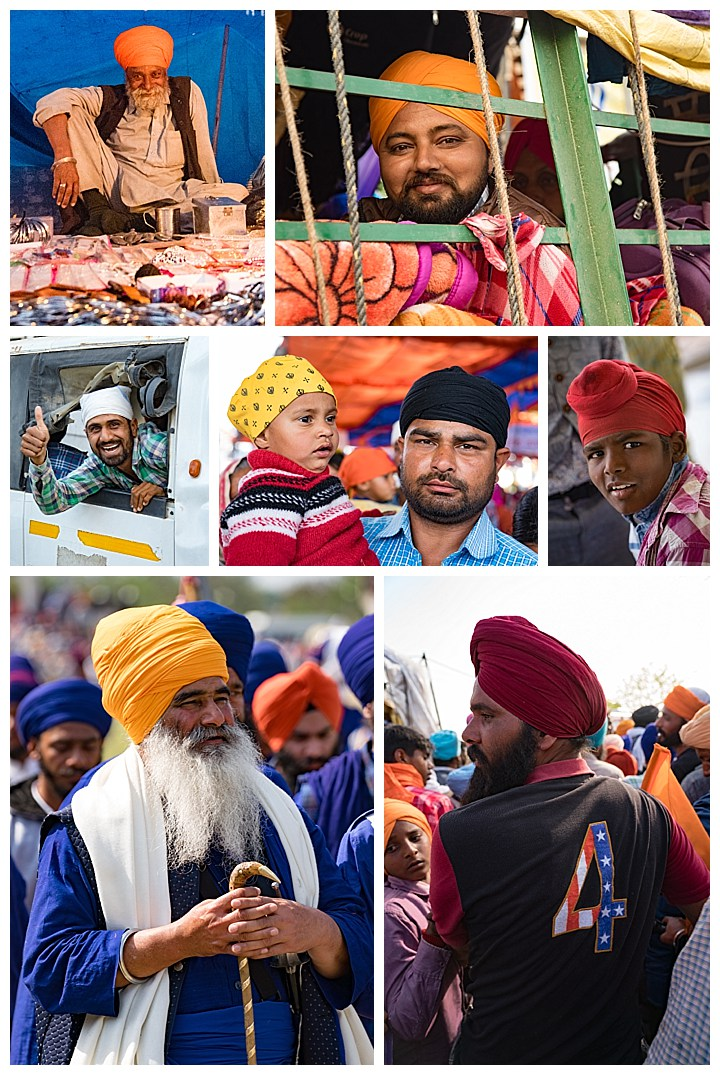 Punjab, India, Hola Mohalla 2018 - turbans other