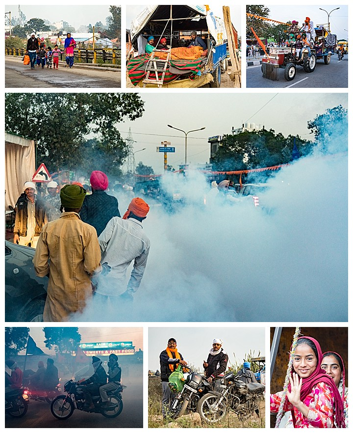 Punjab, India, Hola Mohalla 2018 - transport