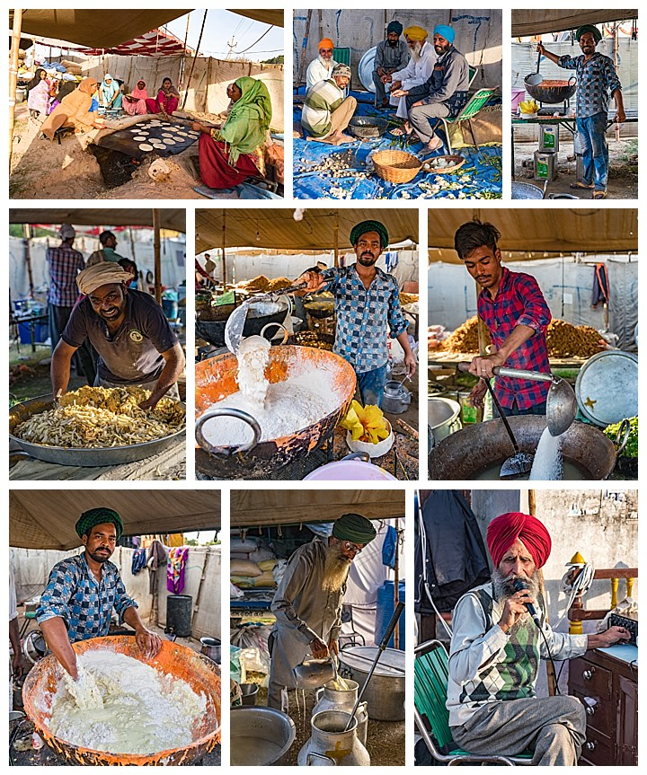 Punjab, India, Hola Mohalla 2018 - feeding the people