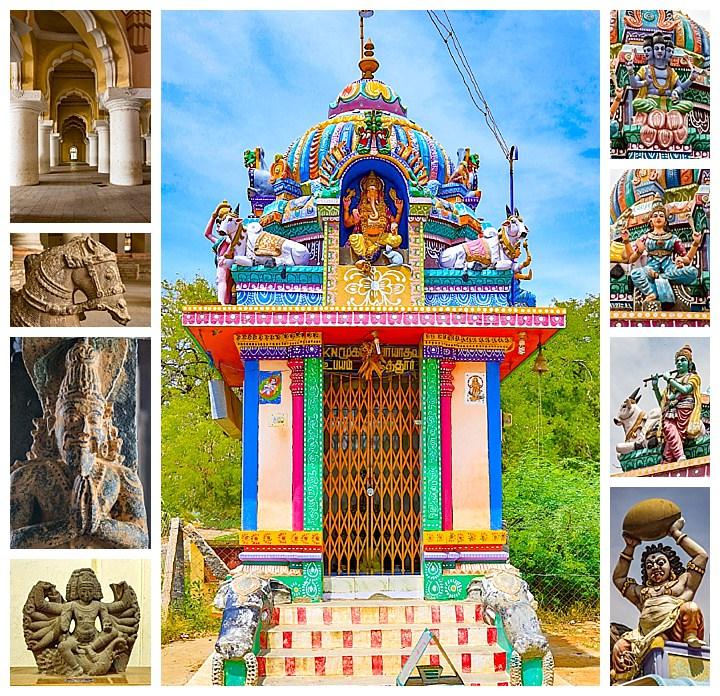 Madurai, India - temple