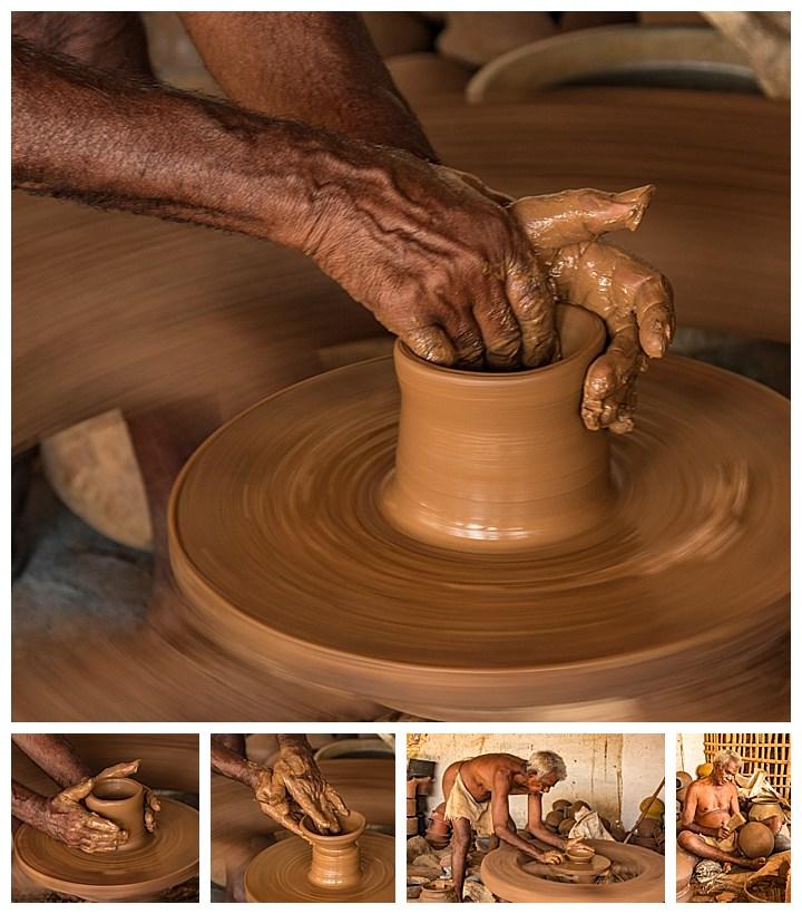 Madurai, India - clay