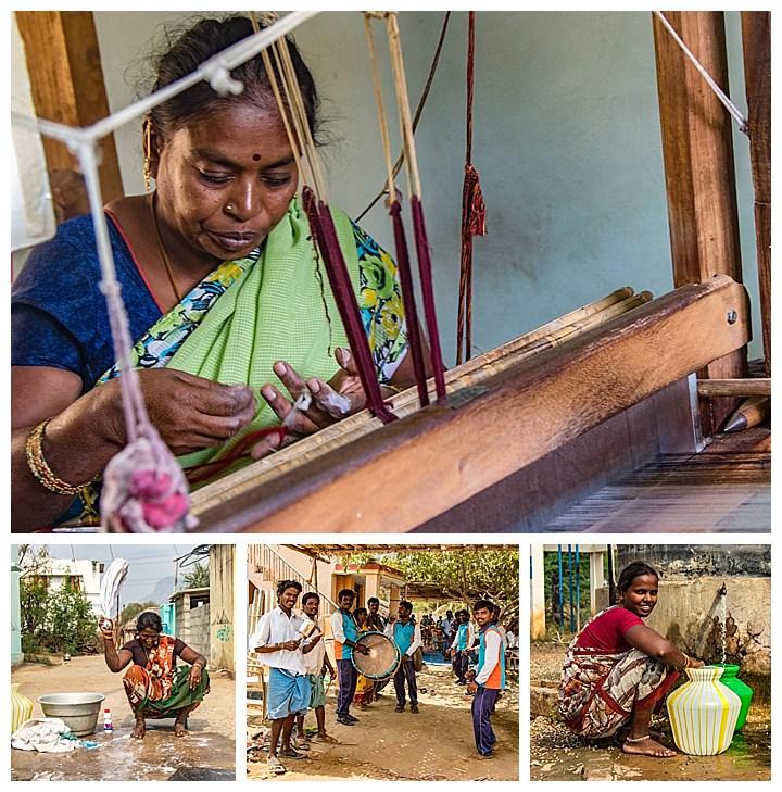 Madurai, India - working