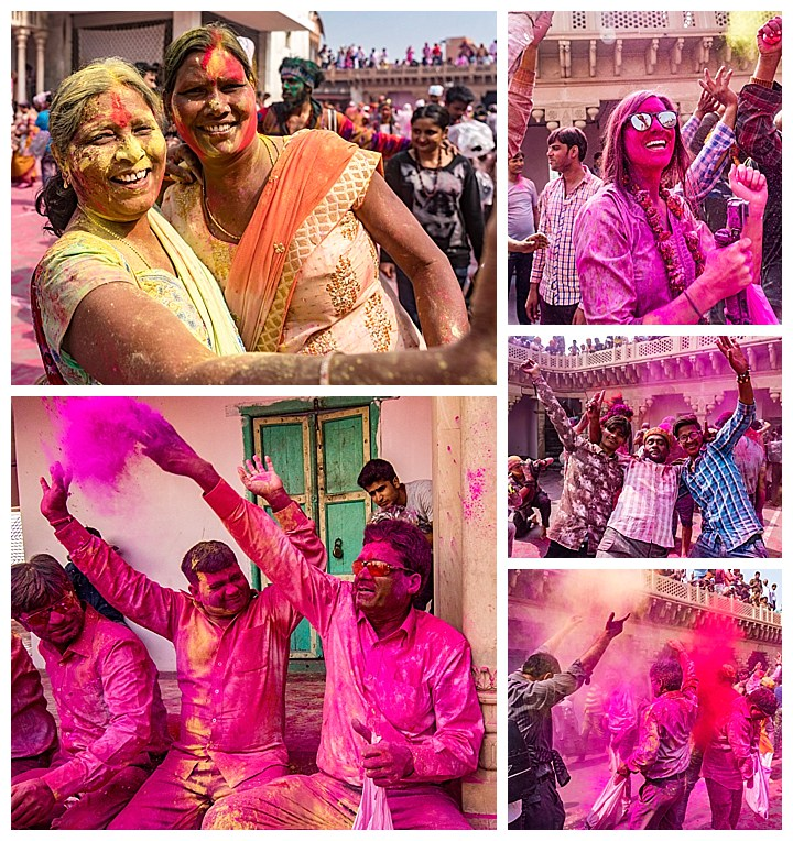 Nandgaon, India Holi - paint