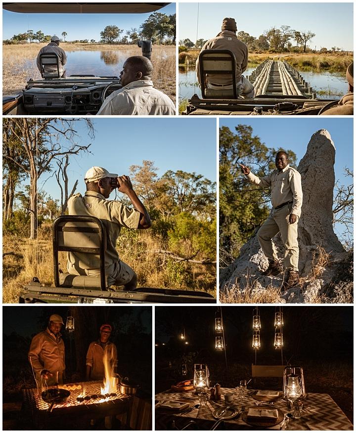 Botswana Okovango Delta - people
